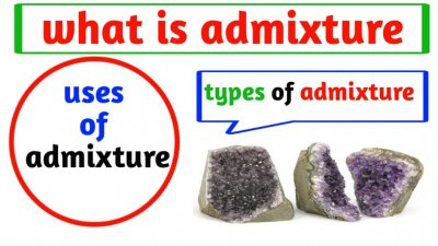 What is admixture of concrete and it types and its uses