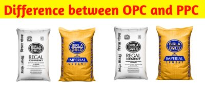 Ordinary Portland cement (OPC) and Portland pozzolana cement (PPC)