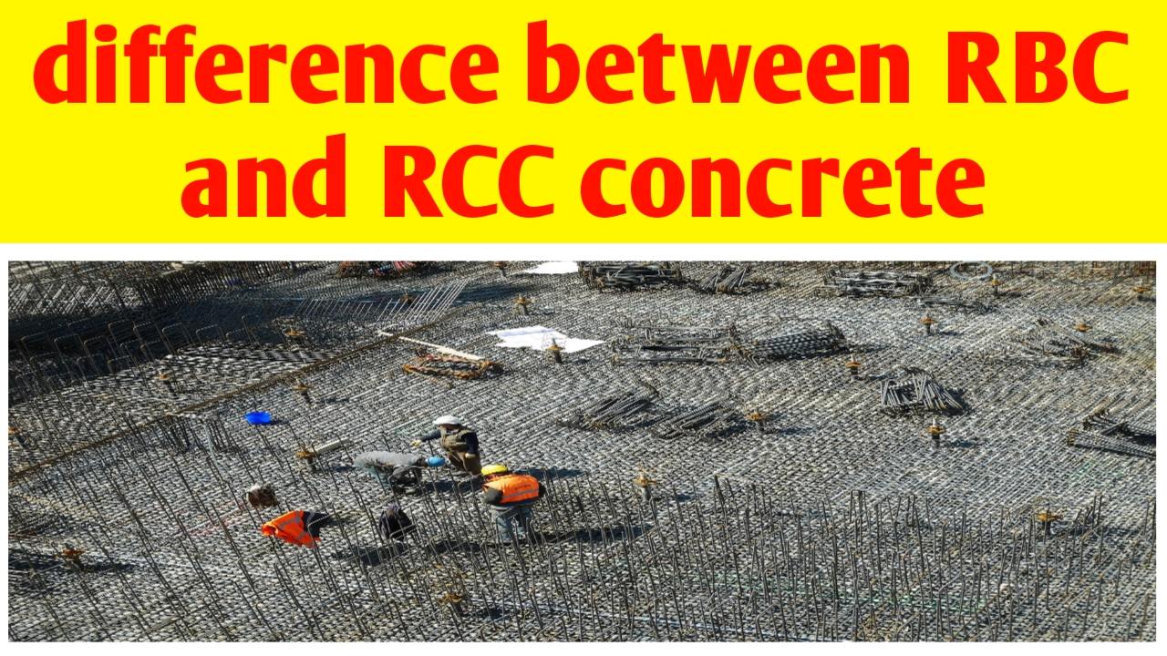 What is the difference between Rbc and Rcc concrete