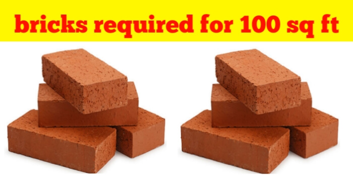 How Many Bricks Required For 10 Sq
