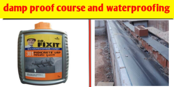 damp proof course (DPC) and waterproofing