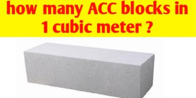 How many AAC blocks in 1 cubic metre ?