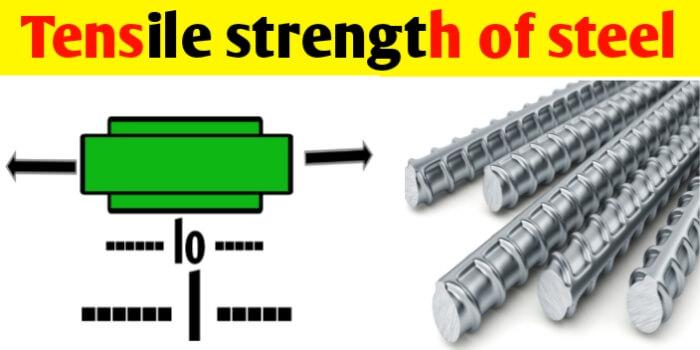 Tensile strength of Steel | Yield & Ultimate tensile strength