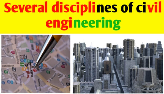 What are different branches of civil engineering?