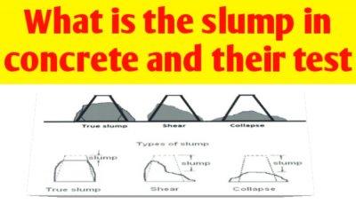 What is the slump in concrete | concrete slump test