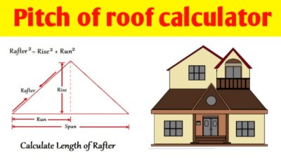 Pitch of roof calculator | how to figure out pitch on a roof
