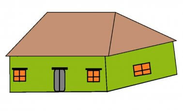 What is hip roof?